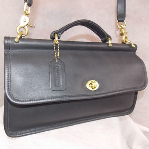 COACH Vintage 'CITY Willis' Bag #9153 Black USA